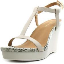 Sandalias con tiras de mujer Calvin Klein color principal blanco