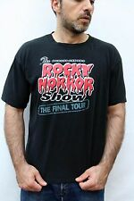 Richard O'Brien's ROCKY HORROR SHOW ThE FINAL TOUR VINTAGE 90s T SHIRT XL