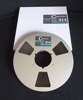 """Capture 914 Reel To Reel  1/4"""" x 2500' on aluminum reel w/box  Teac, Pioneer"""