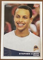 2009 Topps Stephen Curry #321 Rookie REPRINT Brand New Card