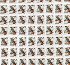 #2476 1¢ American Kestrel Bird Sheet of 100 Mint Nh Og