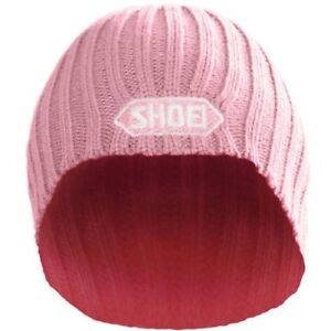 Shoei Helmets Official Beanie Wooly Hat + Logo - One Size > Pink