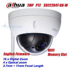 Dahua SD22204T-GN-W 2MP Full HD Wifi Wireless Network Mini PTZ Dome Camera