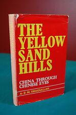 The Yellow Sand Hills China Khan 1975 hardcover in jacket Bangladesh Academy
