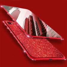 Bling Glitter Phone Case Silicone TPU Crystal Bumper Cover For iPhone XS Max XR
