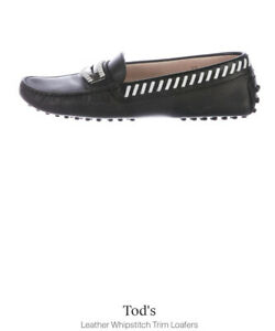 Tod's Designer Shoes, Brand New, Black & White, Size 7, Comfort & Style
