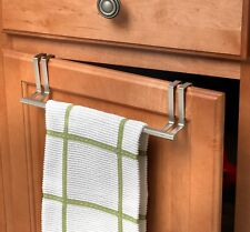 "Spectrum 76471 Over The Cabinet/Drawer Towel Bar, Brushed Nickel, 11"""