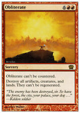 Obliterate - LP -  8th Edition Core Set Eighth MTG Magic Cards Red Rare