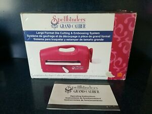Spellbinders Grand Calibur Die Cutting & Embossing Machine W/ Sandwich Plates