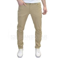 Levi's 511 Men's Designer Stretch Slim Fit Beige & Black Chino Jeans, BNWT