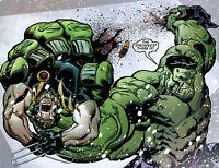 Marvel Comics Incredible Hulk Avengers Vs Batman Tool Box Fridge Magnet Decor #2