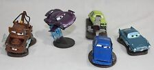 Disney Pixar Cars 2 Plastic Lot Play Set Cake Toppers 5 Acer Finn McMissle Mater