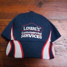 New LOWES Commercial Services Employee Uniform Navy Blue Baseball Cap Hat
