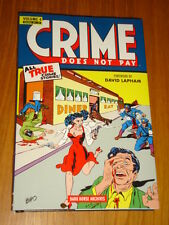 CRIME DOES NOT PAY DARK HORSE ARCHIVES HARDBACK #34-37  VOL 4 < 9781616551193