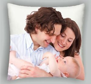Personalised Cushion  Printed Photo Gift Custom Made Large Print + FREE FILLING