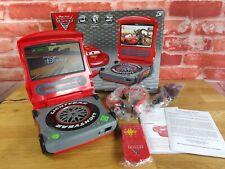 "Disney Cars 2 Lightning McQueen 7"" LCD Portable DVD Player w/ Remote Headphones"