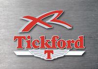 Tickford XR 3 piece decal sticker kit 7 yr water & fade proof vinyl badge