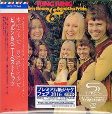 ABBA-RING-JAPAN MINI LP SHM-CD BONUS TRACK Ltd/Ed ttt