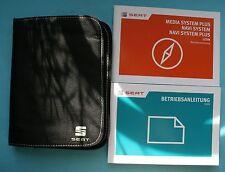 Seat Leon 5F Betriebsanleitung Bedienungsanleitung Media System Plus 05 2017