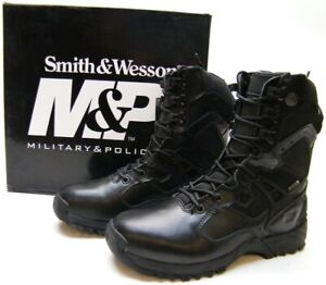 NEW SMITH WESSON M&P GUARDIAN XLMPHC WATERPROOF MILITARY POLICE BOOTS BLK 7.5 M