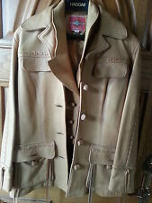 MS PIONEER WESTERN LEATHER JACKET COAT WITH VEST SIZE 12 16 VINTAGE UNIQUE RODEO