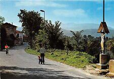 Cartolina - Postcard - Sant 'Elpidio - Crocifisso - via del paese - 1990