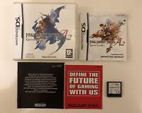 Final Fantasy Tactics A2 Grimoire Of The Rift Nintendo DS DSi 3DS 2DS XL Game