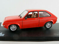 IXO #64 Opel Chevette CC (1980-1982) in blaßrot 1:43 NEU/PC-Vitrine