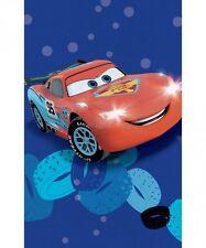 Asciugamano Asilo Cars Saetta Blu Rosso Spugna 50x80 cm Disney Caleffi