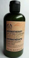 The Body Shop Aromatherapy  Uplifting Mandarin Foam Baths  250mL (8.4 US FL OZ)