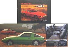 Mazda RX-7 Rotary 1980-81 Original UK Sales Brochure Pub. No. RX/80/1