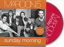 MAROON 5 - Sunday morning CD SINGLE 2TR EU Cardsleeve 2004 RARE!