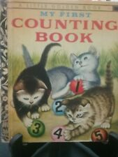 MY FIRST COUNTING BOOK Little Golden Book 1974 G/C