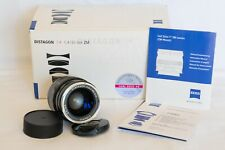 Zeiss Distagon T* 1.4/35mm ZM lens for Leica M mount (Used, Like New, Boxed)