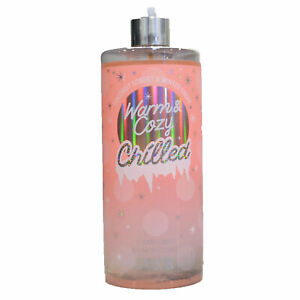 Victorias Secret Fragrance Mist Warm And Cozy Chilled Splash New Damaged Bottle
