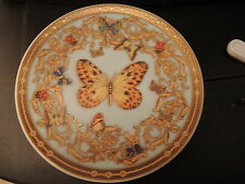 VERSACE BUTTERFLY PLATE COASTER DISH LE JARDIN ROSENTHAL retired sale