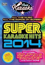 SUPER KARAOKE HITS 2014  - DVD - REGION 2 UK