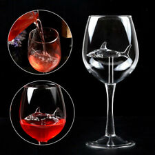 300ml Shark Wine Glass Red Wine Goblet Wine Cocktail Glasses Glass For Party