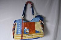 Paul Brent Coastal Life Canvas Bag Yacht Club Nautical 3D Flags Sailboat