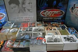 JAMES BOND TRADING CARDS - RARE AND HARD TO FIND SETS 1993-2016