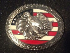 """Freedom Trophy Buckle 1-1/2"""" (3.8 cm) by Tandy cat# 1759-00 FREE SHIPPING!"""