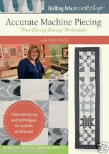 NEW! Accurate Machine Piecing Amy Ellis DVD Time Saving Sewing Techniques