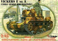 VICKERS E MK A ( LATE MODIFICATION ) - POLISH ARMY MARKINGS 1/35 MIRAGE