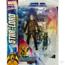 Star-Lord Rocket Raccoon Guardians of the Galaxy 2 Marvel Select Action Figures
