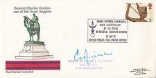 RE9 140th Anniv Birth General C Gordon Signed General Sir Charles L Richardson