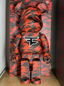 FAZE CLAN BEARBRICK 1000% IN HAND SOLD OUT