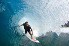 "Tom Curren at Backdoor 8x12"" Photo by Pete Frieden"