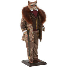 Collectible doll Sir Henry the Cat Designer Exclusive Handmade. Luxury Gift New