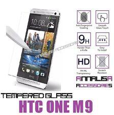 PELLICOLA IN VETRO TEMPERATO PER HTC ONE M9 TEMPERED GLASS SCREEN PROTECTOR