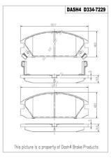Dash 4 Brake CD334 Front Ceramic Brake Pads